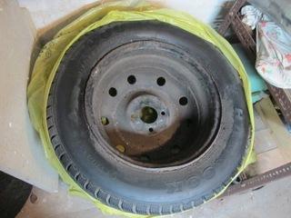 195/65r14 шины в очень хорошем состоянии cостояние c felgami - фото