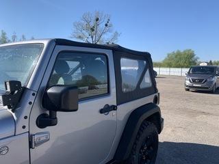 крыша мягкий комплектный jeep wrangler jk 2d - фото