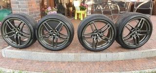 диски aez genua 18'' 5x112 шины pirelli p zero - фото