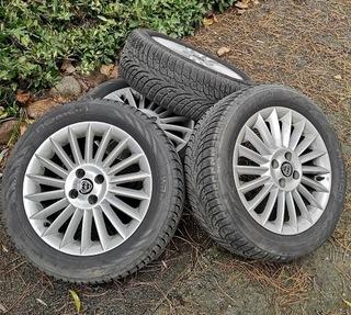 lancia fiat alfa колесо комплект колес зима alu 16'. - фото