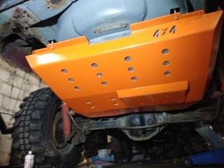 защита бака jeep grand cherokee wj/wg цвет - фото