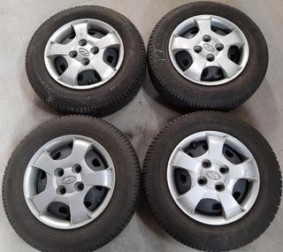 колесо letnie hyundai 175/70 r13 +  оригиналое kolpak - фото
