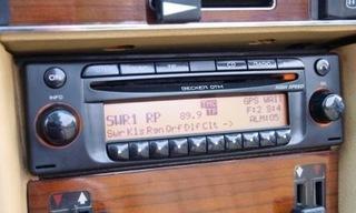 радио mercedes becker dtm mp3 be7910 w126 124 201 - фото