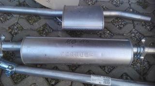 выхлоп комплектный  mercedes w115 - фото