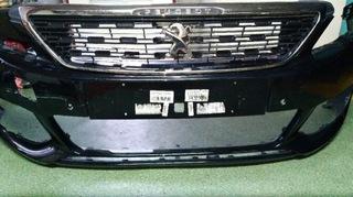 передний бампер з grillem peugeot 308 t9 по рестайлинг - фото