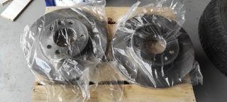 диски тормозные перед kia carnival gq nowe, оригинал - фото