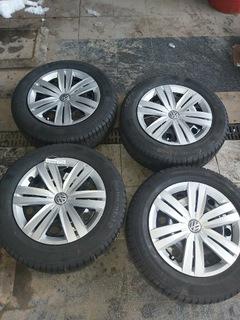 колеса диски стальные et 48 6.5j 5x112opona 205/60 16 - фото