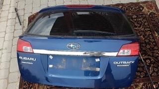 крышка багажника задняя subaru outback iv - фото
