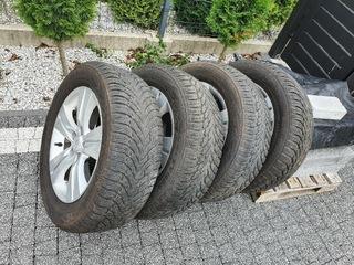 колесо зимние kia sportage hyundai nokian 225 60 r17 - фото
