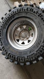 шина 5szt fedima sirocco 285/75r/16 диски toyota - фото