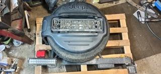 крепление колесо запасное jeep zj - фото