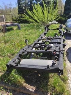 рама зад задняя запчасть jeep wrangler jk - фото