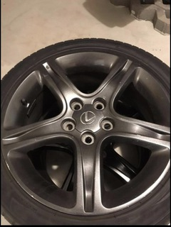 колесо 17' 5x114, 3 lexus is oem - фото