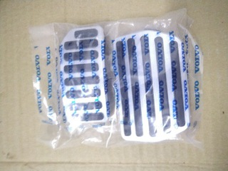 rdesign xc60 накладки на педали оригинал volvo - фото