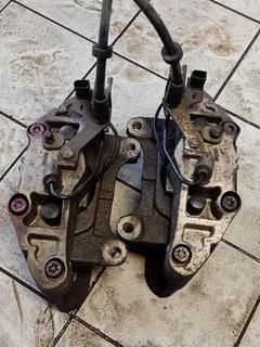 суппорт тормозной  правый+ левый audi a6 c6 345mm - фото