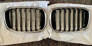 решетка радиатора решетка bmw x3 g01 решетка правая левая - фото