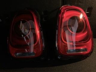фара задняя левая правая mini f54 f55 f56 led - фото