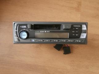 магнитола автомобильное daewoo co sciaganym panelem - фото