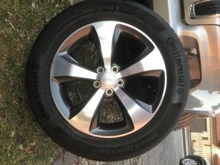 диск , шкив jeep cherokee kl, jeep grand 225/60 r18 - фото