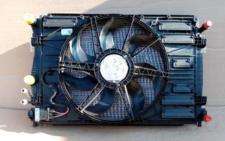 комплект радиаторов vw golf vii 7 gte гибрида,  a3 8v - фото