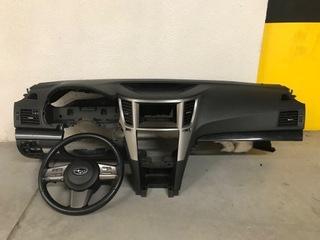 subaru legacy airbag консоль торпеда руль 12r - фото