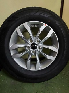 "диски + шины колеса kia 16"" 215/70/r16 - фото"