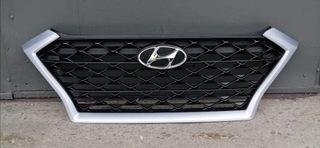 решетка радиатора hyundai tucson 3 рестайлинг 2018 - фото