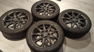 колесо орг. toyota шина 225/45r17 nokian +  датчики - фото