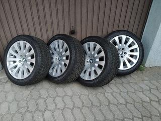 колеса легкосплавные диски c шинами zimowymi run flat - фото