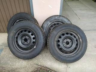 колеса зимние peugeot 508 - фото