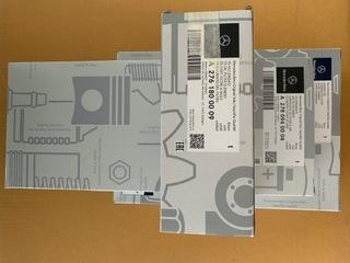 mercedes s500 w222 комплект filtrow. оригинал - фото