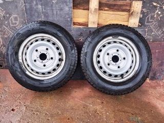 колесо,  шина зимние ford transit custom continental - фото