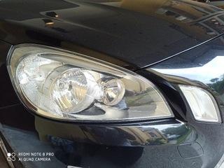 volvo v60 комплект фар з prywatnego auta дорестайл - фото