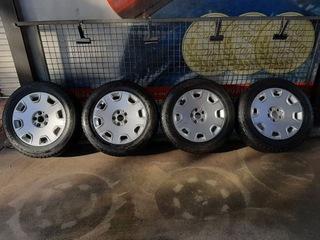 оригиналое диски колесо audi a8 шина 235/55 r17 - фото