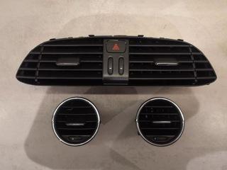 чёрные решетки вентиляции - fiat bravo 2 - фото