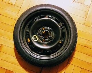 колесо докатка 14'', отверстия 5x100, ступица 57,1 - фото