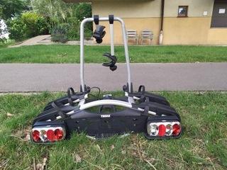 багажник на фаркоп thule euroway g2/ 920 - 2 велосипеды - фото