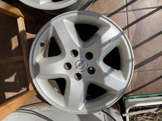 "оригинал диски aluminiowe16"" 5x110 opel astra - фото"