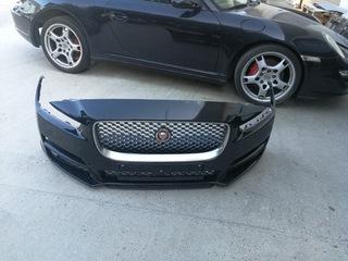 бампер rzedni jaguar xe комплектный для лака - фото