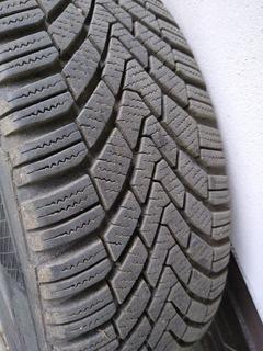 колесо volvo v40/s40,  диски стальные, зимние + nakretki - фото