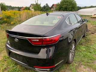 kia cadenza 2017 год новый модель крышка багажника задняя - фото