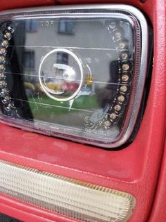 jeep cherokee xj фары светодиод led перед c homologacja. - фото