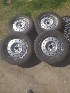 диски стальные + шины - фото