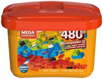 Купить Mega Bloks Construx Kid 480 эл. в контейнере доставка товаров из Польши и Allegro на русском