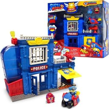 Супер Zings Полицейский Участок +2 фигурки +транспортное средство доставка товаров из Польши и Allegro на русском