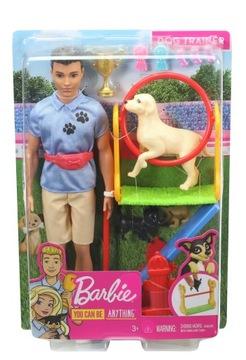 Барби Кен Карьера Тренера собак Набор GJM34 доставка товаров из Польши и Allegro на русском