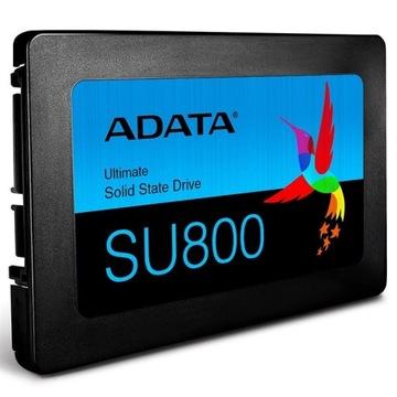 Dysk SSD ADATA Ultimate SU800 256GB 560/520 3DNAND доставка товаров из Польши и Allegro на русском