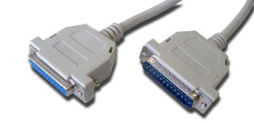 Удлинительный кабель LPT принтера DB25 DSUB 25p 10м доставка товаров из Польши и Allegro на русском
