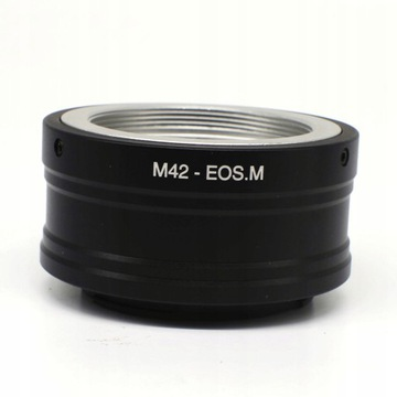 Адаптер CANON EOS M EF-M - M42 доставка товаров из Польши и Allegro на русском
