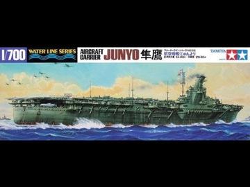 1/700 Japanese Aircraft Carrier Junyo Tamiya 31212 доставка товаров из Польши и Allegro на русском